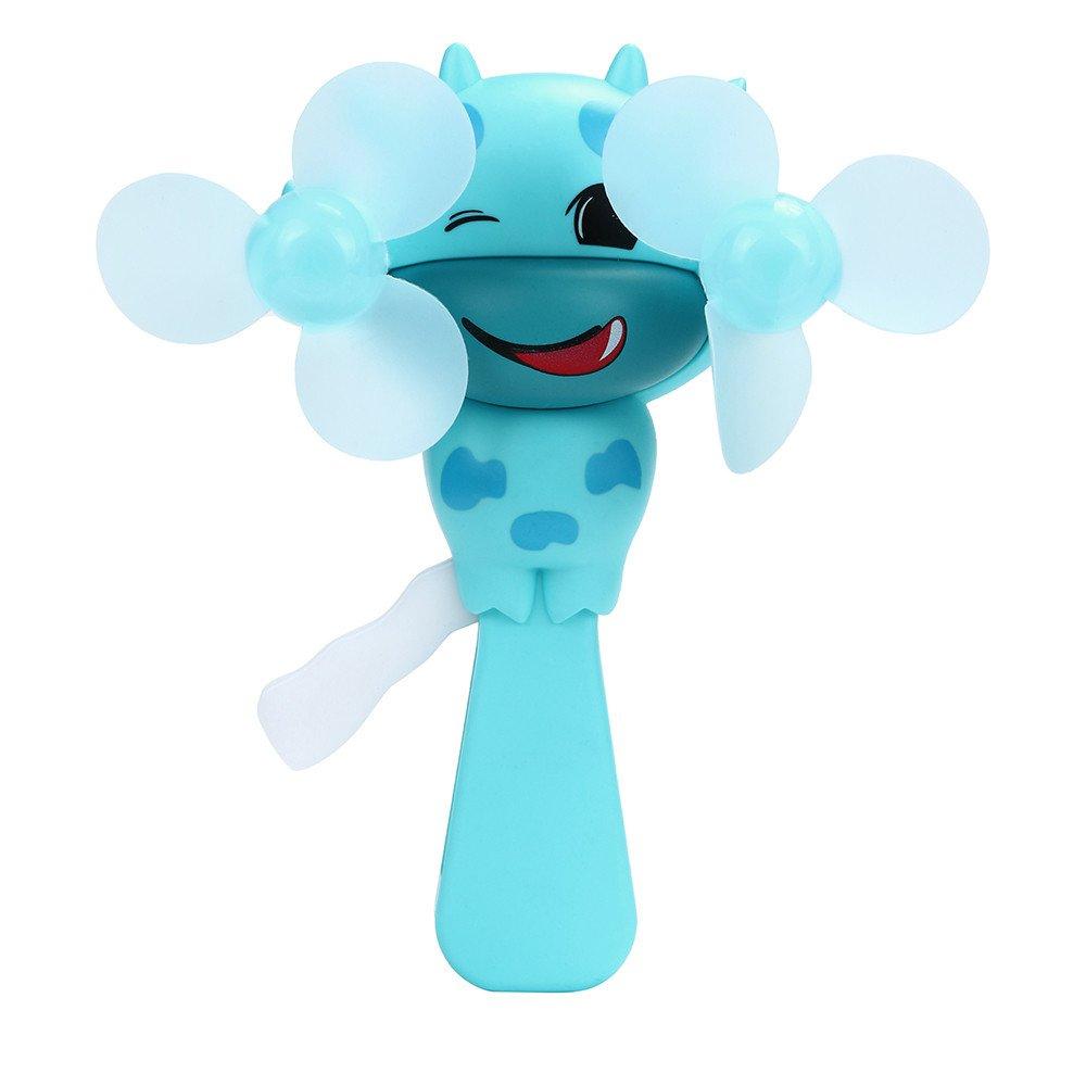 Weiliru Handheld Fan Portable Mini Personal Fan Outdoor Fan Suitable for Summer Picnic