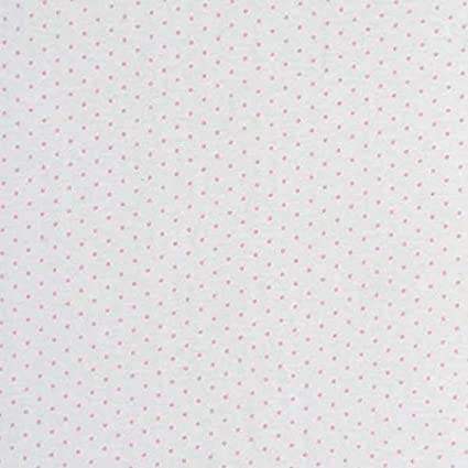 Pink Pindot Jersey Knit SheetWorld Fitted Cradle Sheet 18 x 36 Made in USA