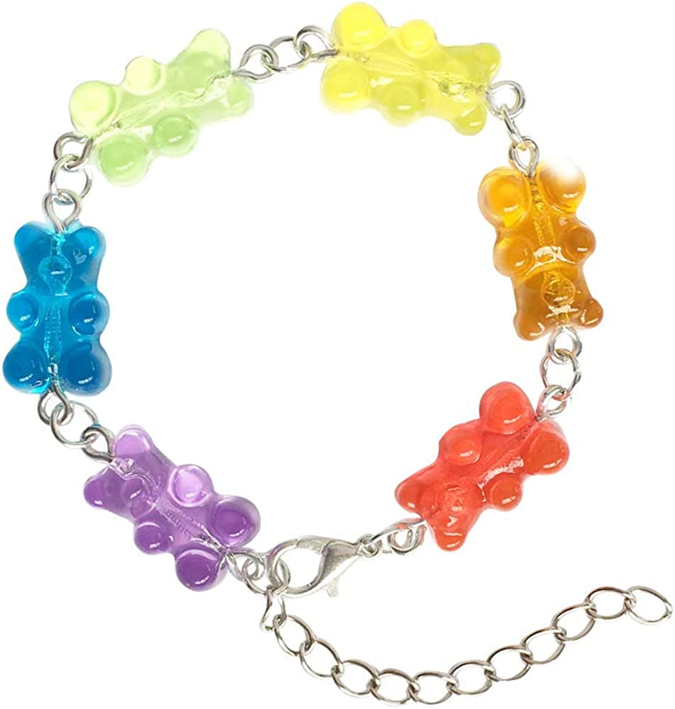 Kawaii Gummy Bears Bracelet 8 Models Available