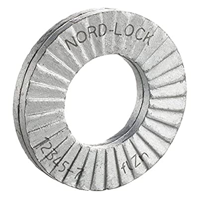 Lock Washer, Bolt 3/8, Steel, PK10