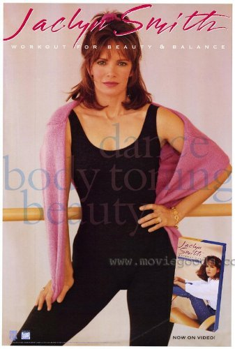 Jaclyn Smith Workout for Beauty and Balance Poster Movie 1993