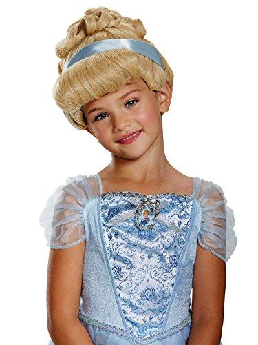 Cinderella Wig Child (Cinderella Deluxe Child Wig, One Size)