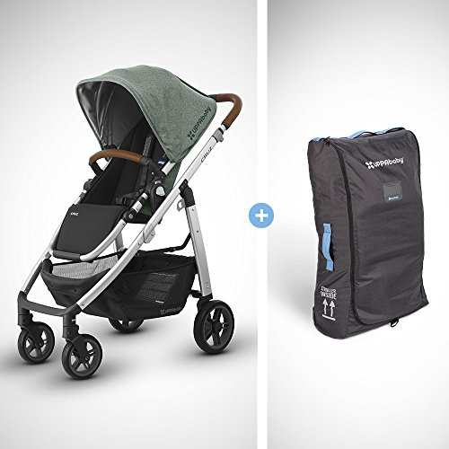 UPPAbaby Full-Size Cruz Infant Baby Stroller & Travel Bag Bu