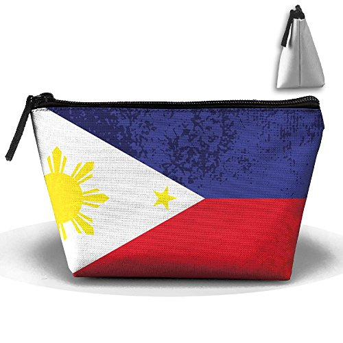 SESY Philippines Flag Hand Bag Pouch Portable Storage Bag Clutch Handbag