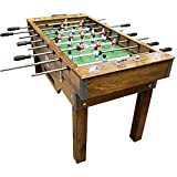 Portuguese Foosball Table / Soccer Table - Matraquilhos - Made of Strong Solid Wood and with Incredible Durability