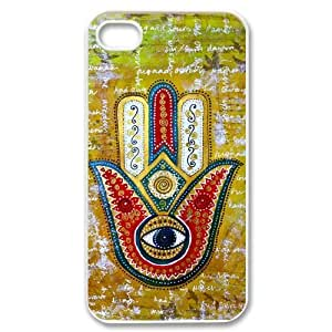 hamsa hand CUSTOM Cover Case for ipod touch 4 LMc-57517 at LaiMc