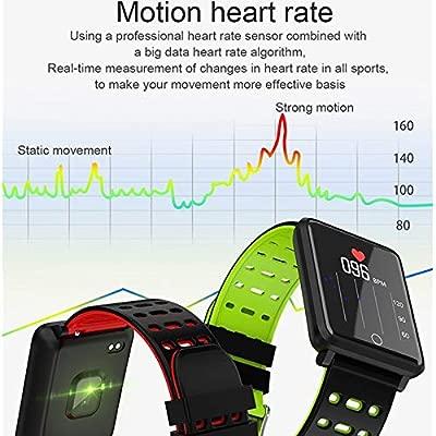 POKQHG Ip68 Smart Horloge Bloeddruk Activiteit Tracker ...