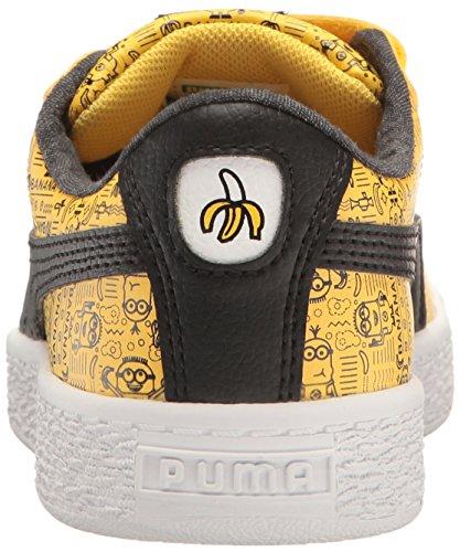PUMA Kids  Minions Basket V Sneaker ed33f317f