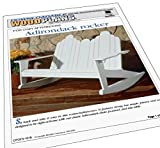 A Woodworking Pattern and Instructions to Build a Adirondack Lawn Chair