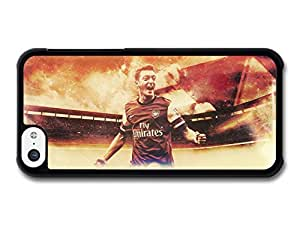 MMZ DIY PHONE CASEMesut ?zil Football Player Red an White Artwork case for ipod touch 5