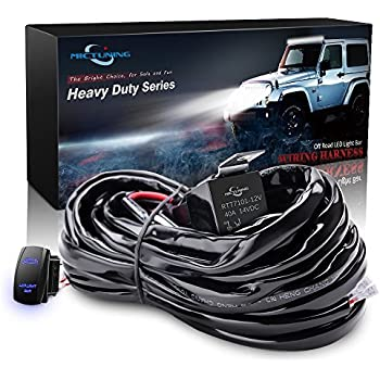 515qa5ELmML._SL500_AC_SS350_ amazon com mictuning hd 300w led light bar wiring harness fuse  at alyssarenee.co