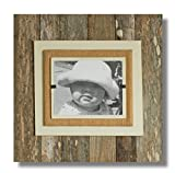 Beach Frames Rustic Reclaimed Wood 8″ x 10″ Single Picture Holding Frame, X-Large, Cream For Sale