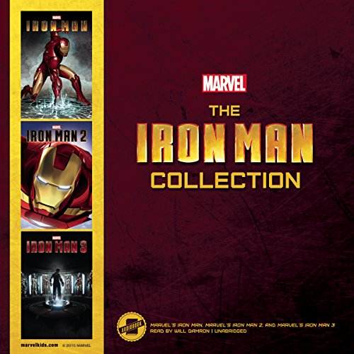 The Iron Man Collection: Marvel's Iron Man, Marve'sl Iron Man 2, Marvel's Iron Man 3: Library Edition by Blackstone Audio Inc