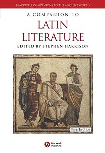 A Companion to Latin Literature by Wiley-Blackwell