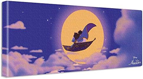 ディズニー ポスター ジャスミン アラジン 30cm × 78.5cm 日本製 dsny-w-1701-03