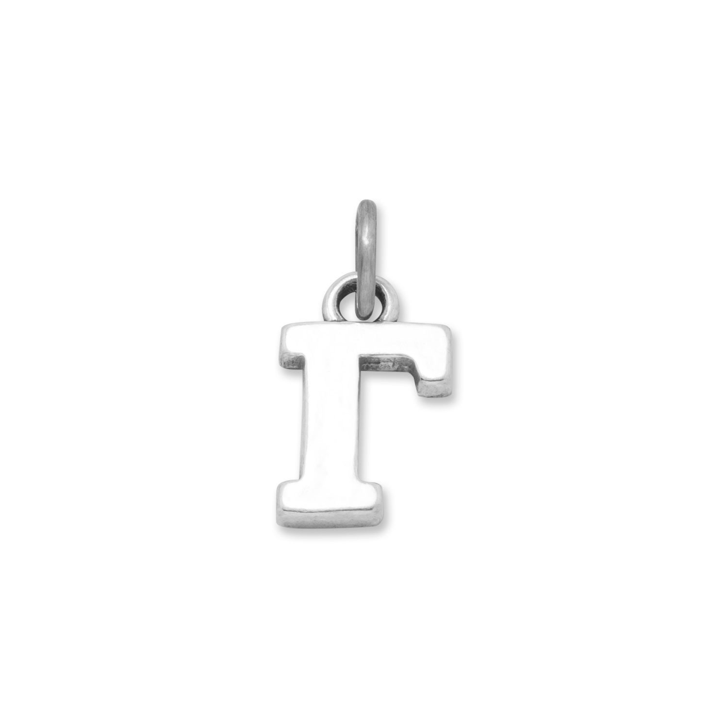 925 Sterling Silver Greek Alphabet Letter Charm Gamma