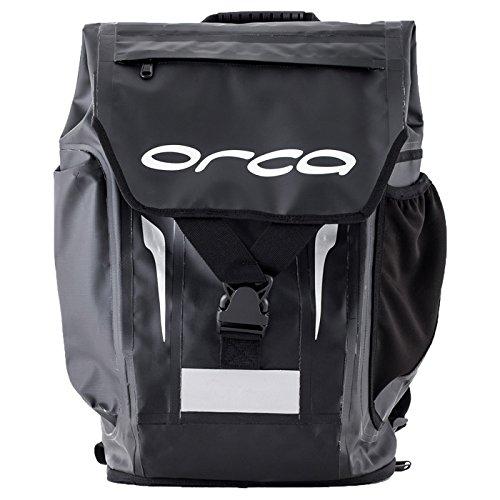 Orca Unisex Waterproof Backpack: Triathlon Bag (Black, OSF)