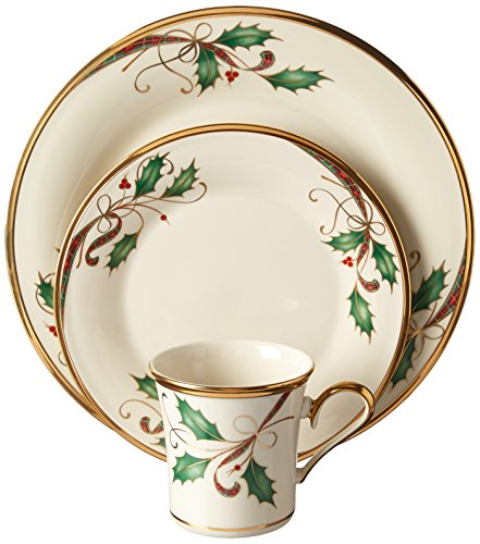 Lenox 12 Piece Holiday Nouveau Gold Dinnerware Set Review