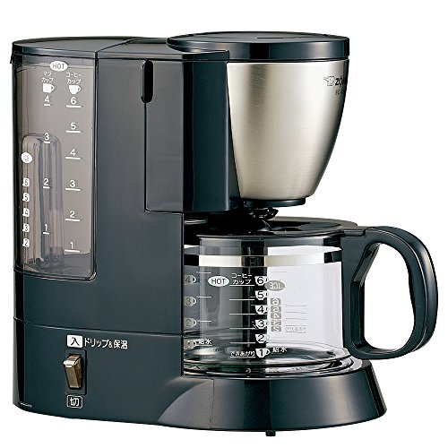 "Zojirushi coffee makers ""coffee communication"" stainless black EC-AS60-XB"