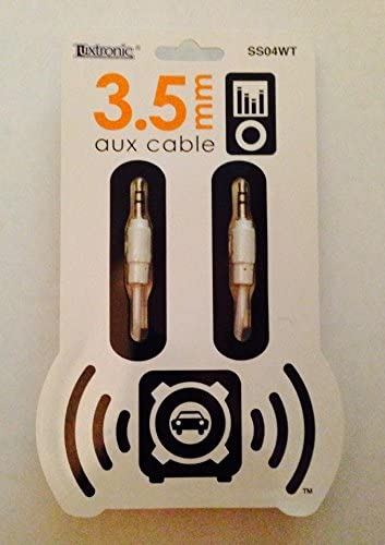Luxtronic 6 Ft 3.5mm Plug to 3 RCA Plugs Cable