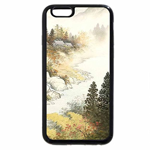 iPhone 6S / iPhone 6 Case (Black) Koukei Kojima. The village on the river