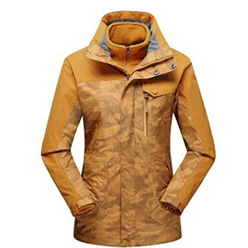 Impermeabile Yellow Giacche Caldo Pile Winter Tre Camouflage Hop Spesso Due In Outdoors Uno Hip Pezzi 756Fqp
