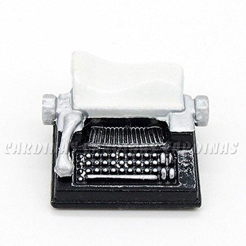 Odoria 1/12 Miniatur Retro Schreibmaschine Schwarz Für Puppenhaus