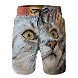 2018 pants Cats Men's Swim Trunks Quick Dry Water Beach Board Shorts