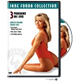 Jane Fonda Collection: Complete Personal Trainer Series - Low Impact Aerobics and Stretch / Abs, Buns & Thighs / Total Body Sculpting