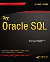 Pro Oracle SQL, 2nd Edition Front Cover