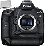 Canon EOS-1D X Mark II DSLR Camera (Body Only) with Microfiber Cleaning Cloth - Renewed