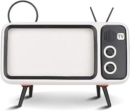 Altavoz Retro estéreo HD en Forma de TV con Altavoz Bluetooth para ...