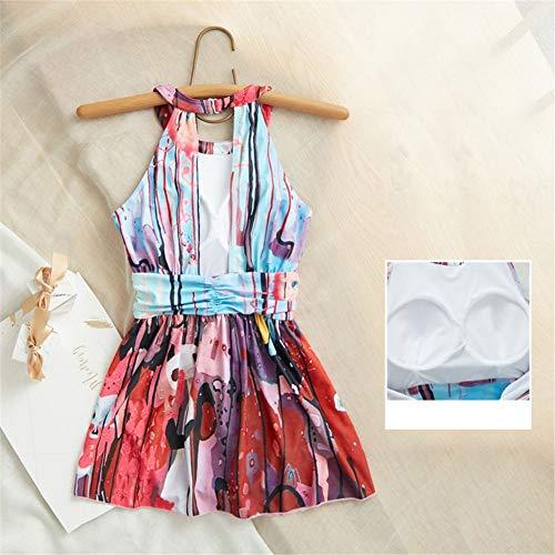 A Wazr Donna Vita Vestibilità Per Bassa Con Swimwear Da Gonna Contenitiva Nuoto Il Sexy angolo Attillata Colore Piatto tRrYxXqRw