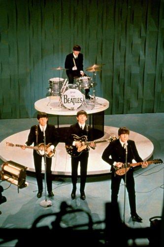 The Beatles Ed Sullivan 13 X 19