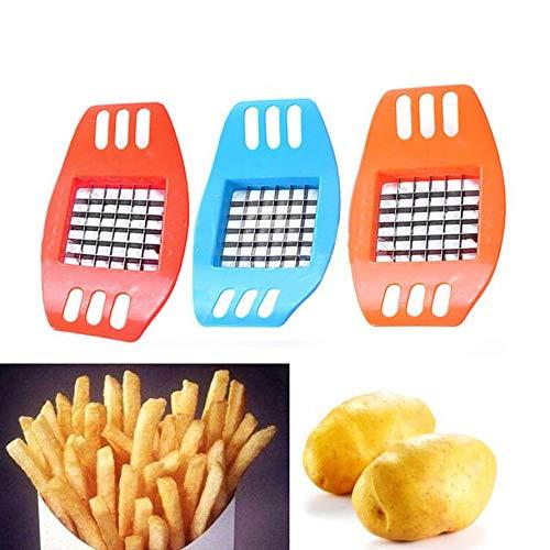HoganeyVan Coupeur de pommes de terre coup/é en lani/ères de frites Outils Gadgets de cuisine Utilitaire Multi-Function Machine de d/écoupe de pommes de terre