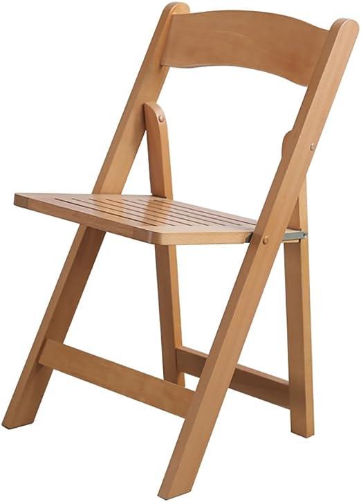 Sedie Richiudibili In Legno.Chair Ql Sedie Richiudibili Pieghevole In Legno Massello Sedia