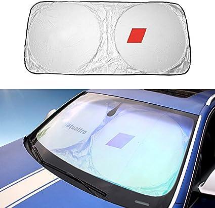 Pliable Jumbo Grand Pare Soleil SUV Fenêtre avant Voiture Visière