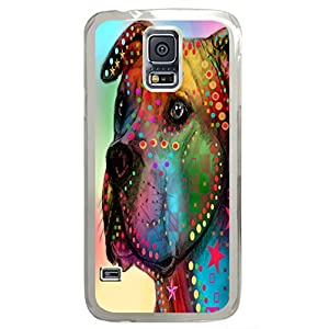 Samsung Galaxy S5 Cases & Covers -dog 02 Custom PC Hard Case Cover For I9600/S5 Transparent