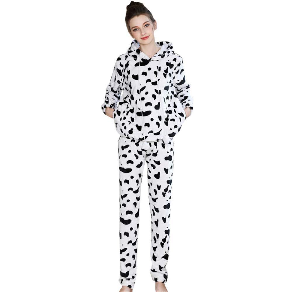 Quelife Women Cotton Nightgown Casual Nights Sleepwear Short Sleeves Thicken Sleepshirt (White,L) by Quelife