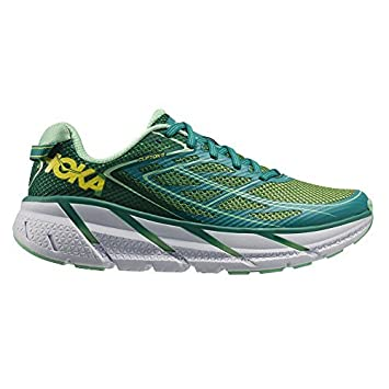 Hoka WomenS W Clifton 3, Color: Tropical Green/Spring Bud, Size:
