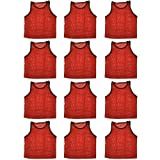 BlueDot Trading Youth Sports Pinnies - 12 Pack