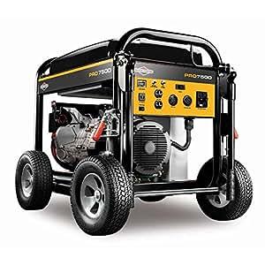 Briggs & Stratton 30555, 7500 Running Watts/9375 Starting Watts, Gas Powered Portable Generator