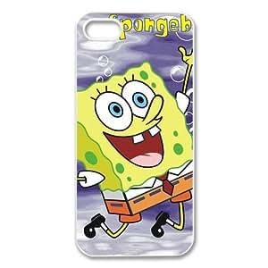 Custom SpongeBob New Back Cover Case for iPhone 5 5S CP976