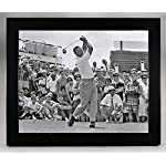 ef7b2047 Framed Arnold Palmer At Pleasant Valley Country Club In 1965, 8x10  Photograph.
