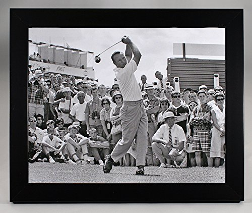 Framed Arnold Palmer At Pleasant Valley Country Club In 1965, 8x10 Photograph
