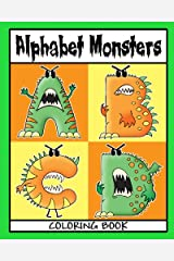 Alphabet Monsters Coloring Book Paperback