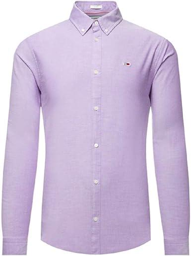 Tommy Hilfiger TJM Stretch Oxford Shirt Camisa para Hombre