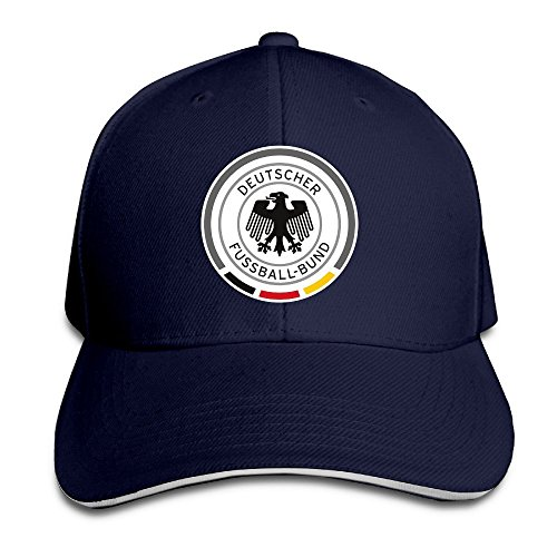 MaNeg Germany Soccer Team Sandwich Peaked Hat & - & Co Germany Tiffany