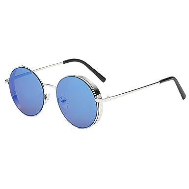 Gafas de Sol De Moda Hermosa Cara Unisex Redondas ...