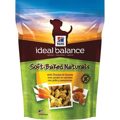 Hill's Ideal Balance Soft-Baked Naturals with Chicken & Carrots Dog Treats, 8 oz bag
